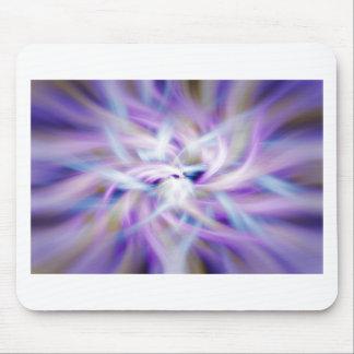 Lotus Energy Swirl Mouse Pad