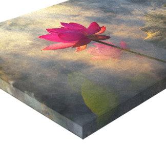 Lotus Fairyland Photographic Art -11 Canvas Print