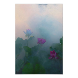 Lotus Fairyland Photographic Art -9 Poster