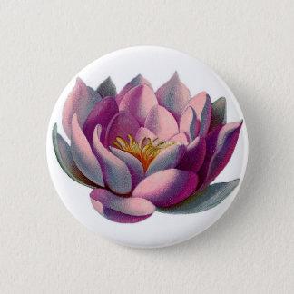 Lotus Flower 6 Cm Round Badge
