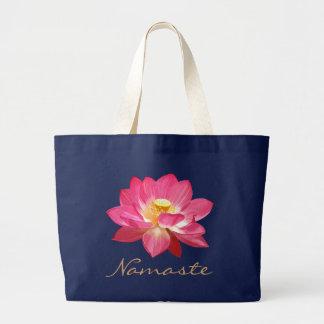 Lotus Flower Bag Namaste 2