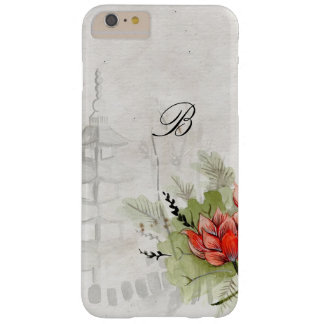 Lotus Flower Barely There iPhone 6 Plus Case