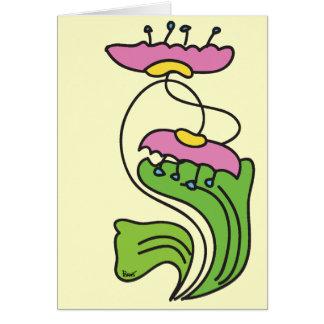 Lotus Flower Blank Card