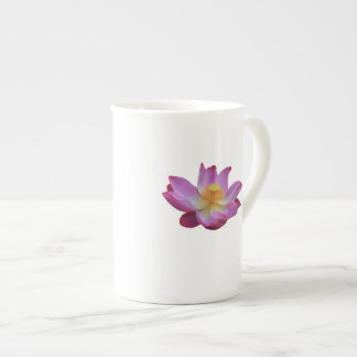 Lotus Flower Bone China Mug