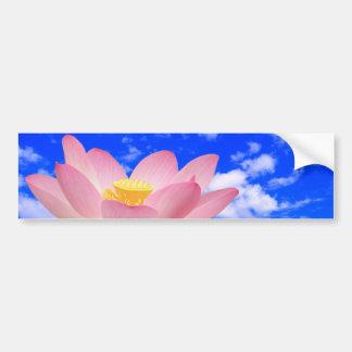 Lotus Flower Born in Water Car Bumper Sticker
