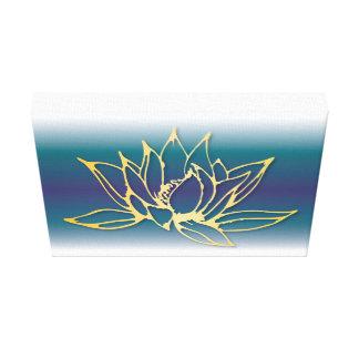 Lotus Flower Canvas Art