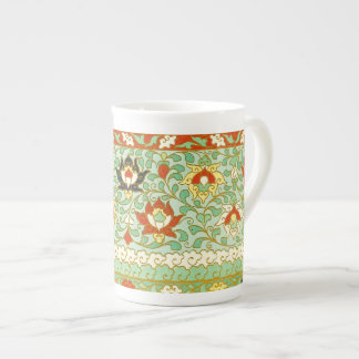Lotus Flower Chinese Design Tea Cup