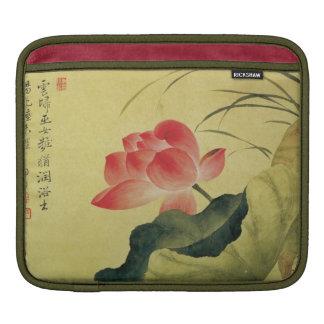 Lotus Flower Chinese Fine Art iPad Sleeve