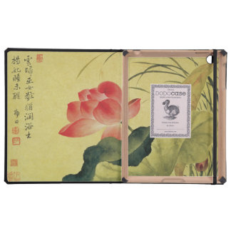 Lotus Flower Chinese Painting iPad Cases