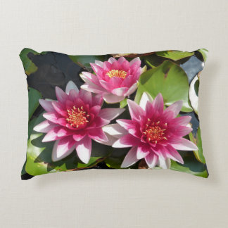 Lotus Flower Decorative Cushion