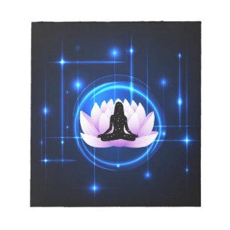 Lotus Flower Galaxy Notepad