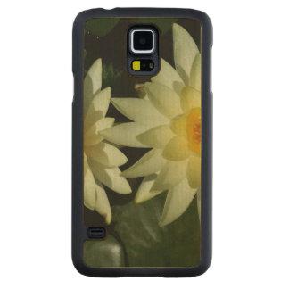 Lotus Flower Maple Galaxy S5 Slim Case