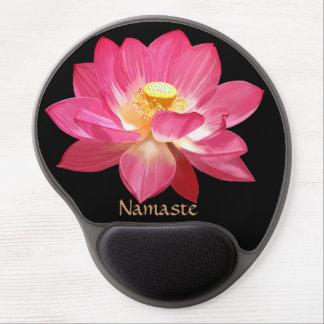 Lotus Flower Namaste Gel Mousepad