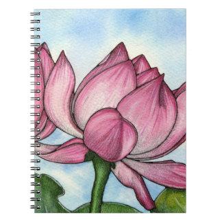 Lotus Flower Notebook