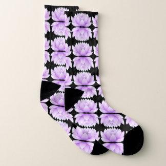 Lotus Flower Pattern Socks