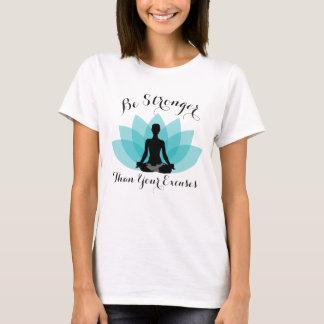 Lotus flower sit T-Shirt