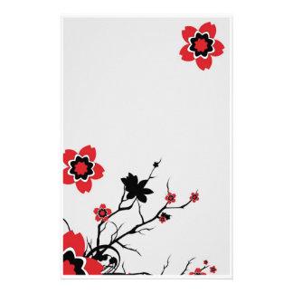 Lotus Flower Stationary Stationery