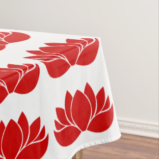 Lotus Flower Tablecloth