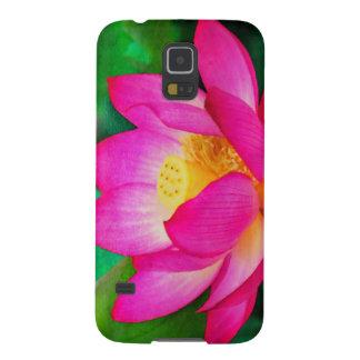 Lotus Flower Watercolor Galaxy S5 Case