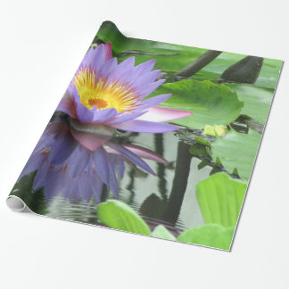 Lotus Flower Wrapping Paper