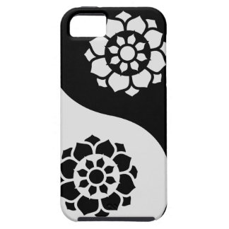 Lotus Flower Yin Yang Tough iPhone 5 Case