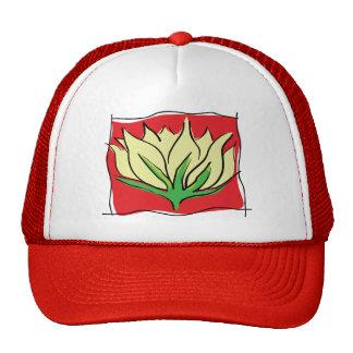 Lotus Flower Yoga Gift Hats