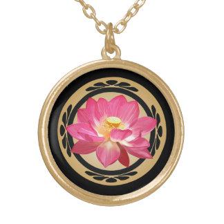 Lotus Flower Zen Necklace