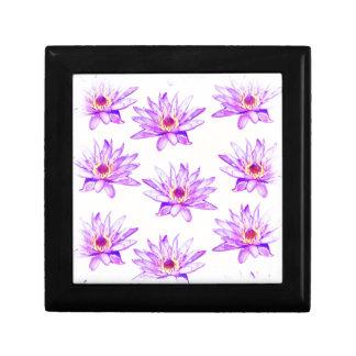 lotus flowers cream inky gift box