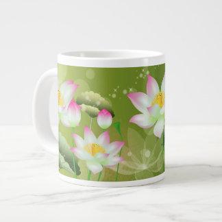 Lotus Flowers Jumbo Mug