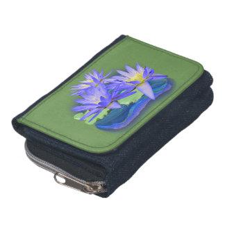 lotus flowers wallet
