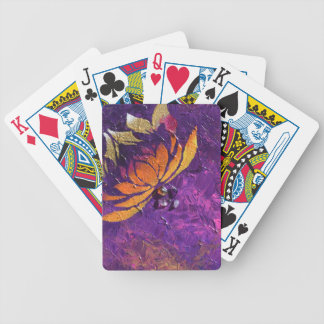 Lotus Fluff Bicycle Playing Cards