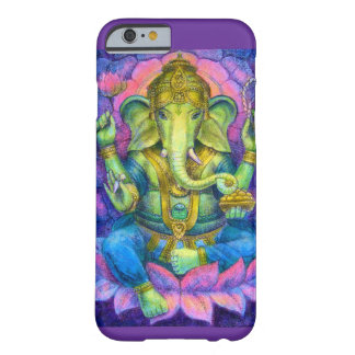 Lotus Ganesha iPhone 6 case Lucky Hindu Elephant