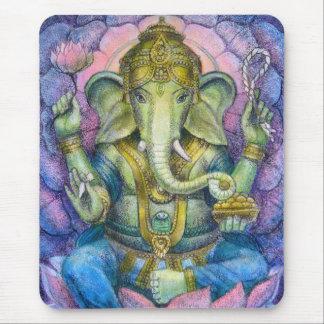 Lotus Ganesha Mousepad