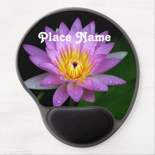 Lotus Gel Mousepads
