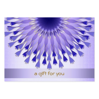 Lotus Hair Salon and Spa Gift Certificate Pack Of Chubby Business Cards