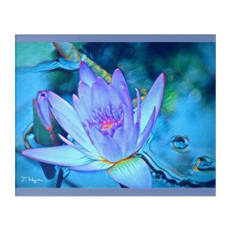 Lotus Heart Acrylic Wall Art