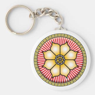 Lotus Icon Keychains