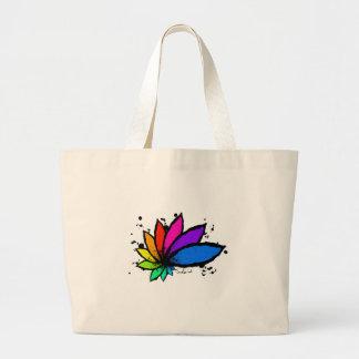 Lotus Large Tote Bag