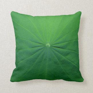 lotus leaf cushions