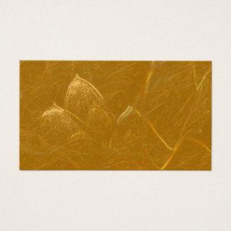 LOTUS Leaf Golden Blank set of 100 nos Business Card