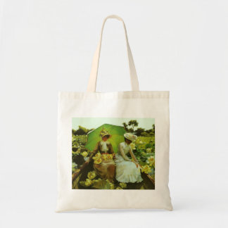 Lotus Lilies by Charles Courtney Curran Canvas Bag