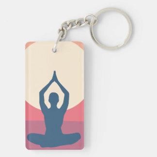 Lotus Love Key Ring