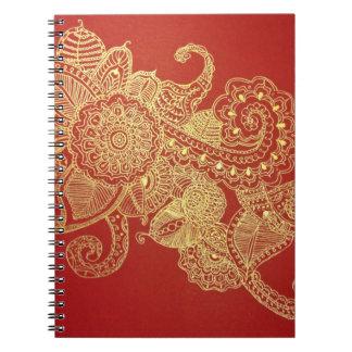 Lotus Love Spiral Notebooks