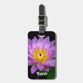 Lotus Luggage Tags
