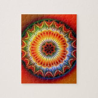 Lotus Mandala Fractal Puzzles