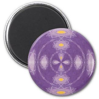 Lotus Mandala Magnet