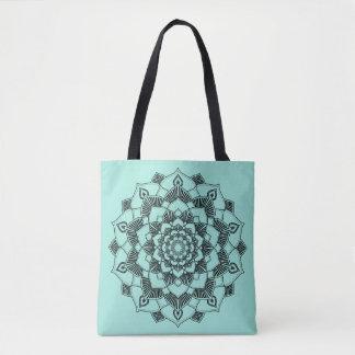 Lotus Mandala Tote Bag
