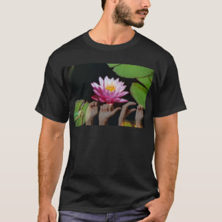 Lotus + Peace ASL T-Shirt