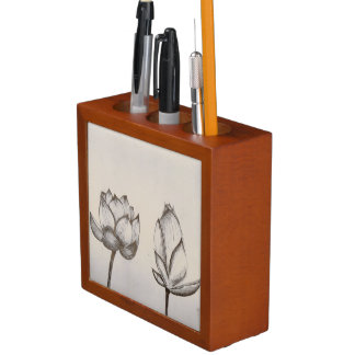 Lotus Pens Desk Organiser