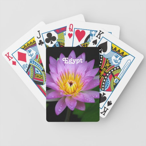 Lotus Bicycle Card Deck